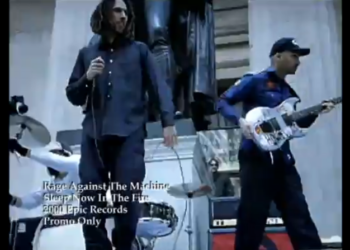Rage Against the Machine — Sleep Now in the Fire, 2000