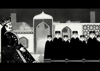 Отрывки из мультфильма «Персеполис» (2007)
