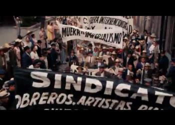Отрывки из фильма «Фрида» (2002) — биографии мексиканской художницы Фриды Кало
