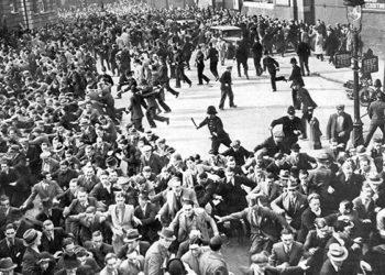 Песня о решающей схватке отрядов британских рабочих с фашистами Освальда Мосли на Кейбл-стрит в 1936 году