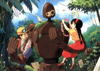 Отрывок из мультфильма «Небесный замок Лапута» 1986 года