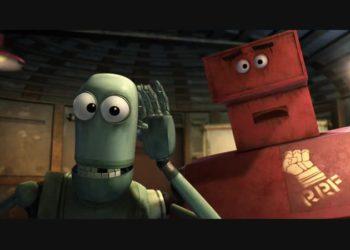 «Революционный фронт роботов» из мультфильма «Астробой» (2009)