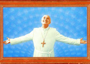 Левый Папа Римский в сериале «Новый папа» (2020)