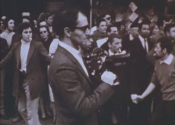 Жан-Люк Годар во время майских событий 1968 года