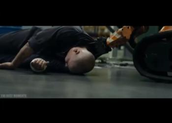 Отрывок из фильма «Элизиум» (2013) — отношение капиталиста к рабочему