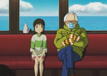 Супер-новость: в неизданных версиях мультфильмов Миядзаки обнаружен Берни Сандерс