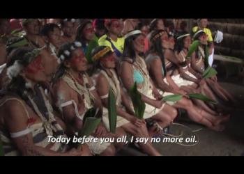 Трейлер экологического антиколониального фильма «Копья со всех сторон» (2019).