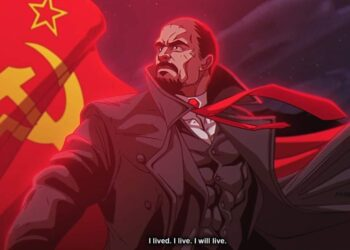 Как могло бы выглядеть аниме про Ленина