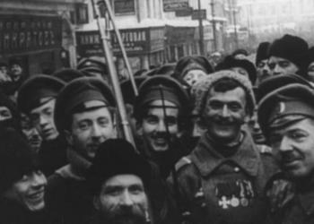 Николай Изволов о восстановлении утерянного фильма «Годовщина Революции»