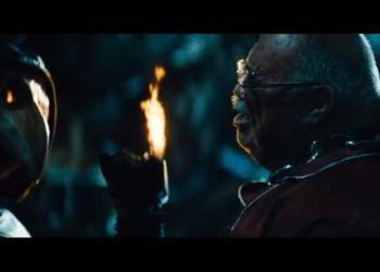Казнь мусорного магната из фильма «Майор Гром: Чумной Доктор» (2021)