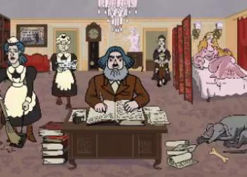 Маркс в клипе NOFX — The Big Drag (2021)