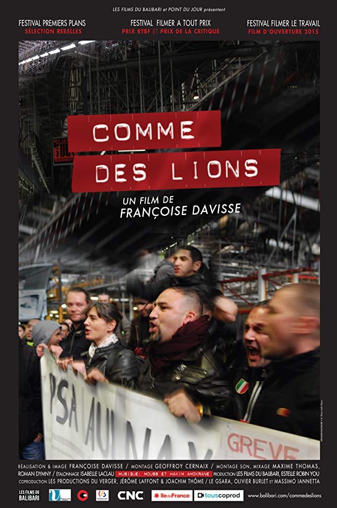 Как львы (Comme des lions), 2016