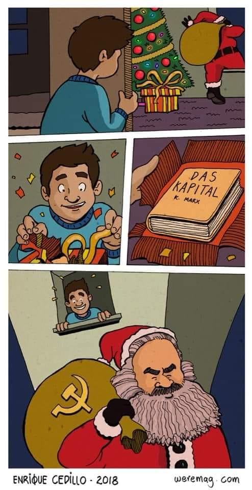 Четыре кадра из несуществующего новогоднего мультфильма