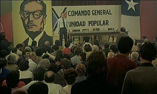 В Сантьяго идет дождь (Il pleut sur Santiago), 1975