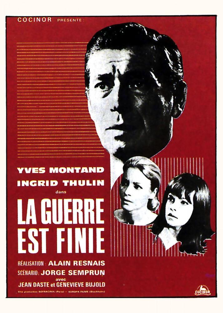 Война окончена (La guerre est finie), 1966