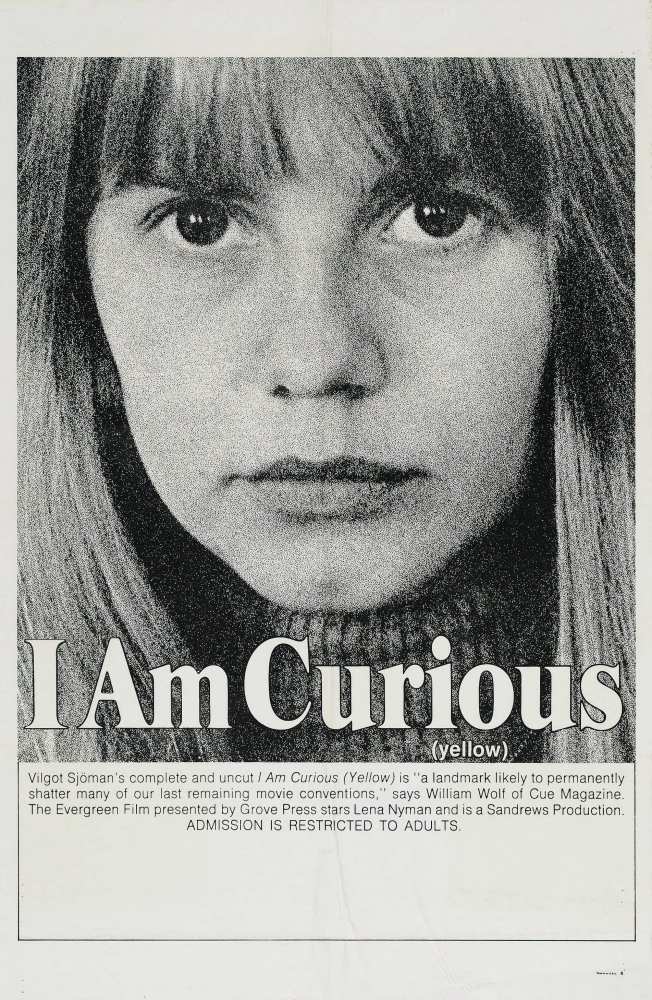 Я любопытна – фильм в жёлтом (Jag är nyfiken - en film i gult), 1967