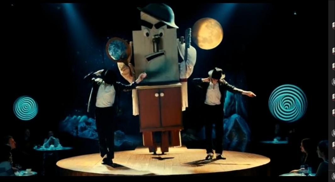 Шапито-шоу: Уважение и сотрудничество, 2011