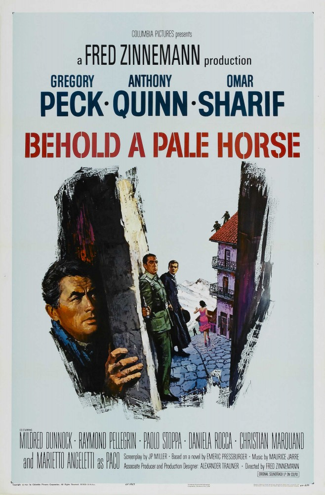 Се конь блед (Behold a Pale Horse), 1964