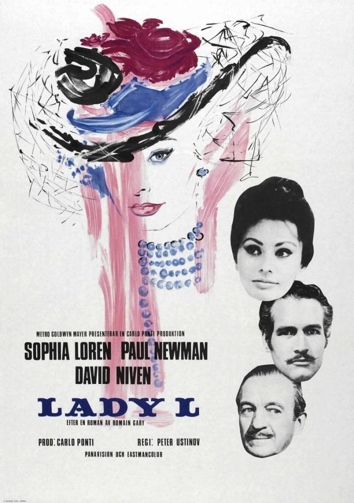 Леди Л (Lady L), 1965