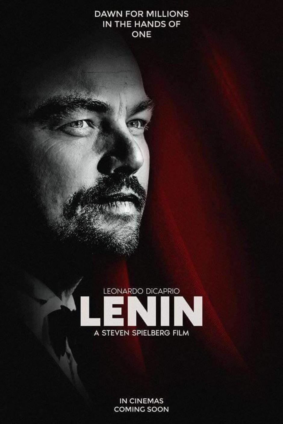А все же знают про биографический фильм про Ленина, с Ди Каприо?