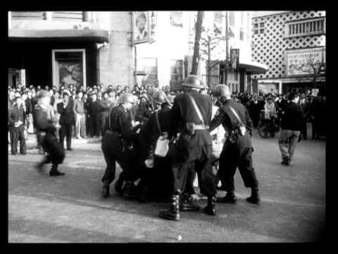 О проходе нескольких человек через довольно краткий момент времени (Sur le passage de quelques personnes à travers une assez courte unité de temps), 1959