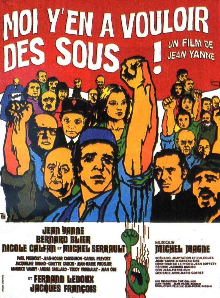 Я хотеть за это бабки (Moi y'en a vouloir des sous), 1973 (на французском языке)