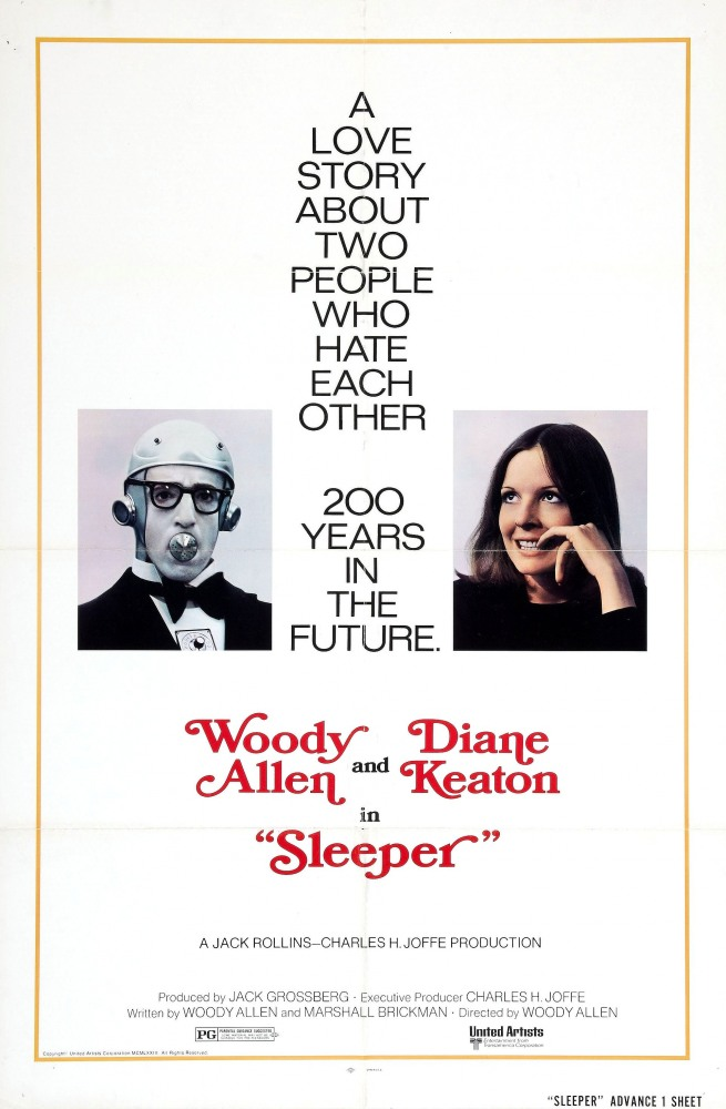 Спящий (Sleeper), 1973
