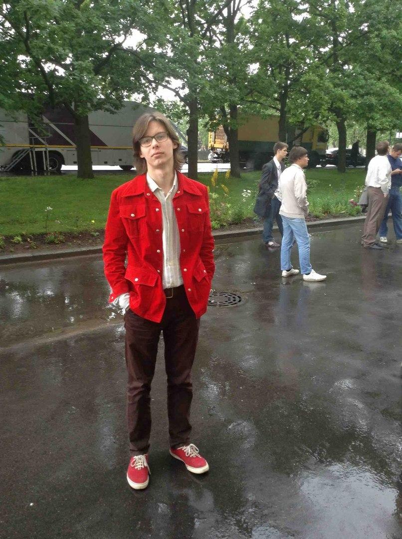 Александр на съёмочной площадке