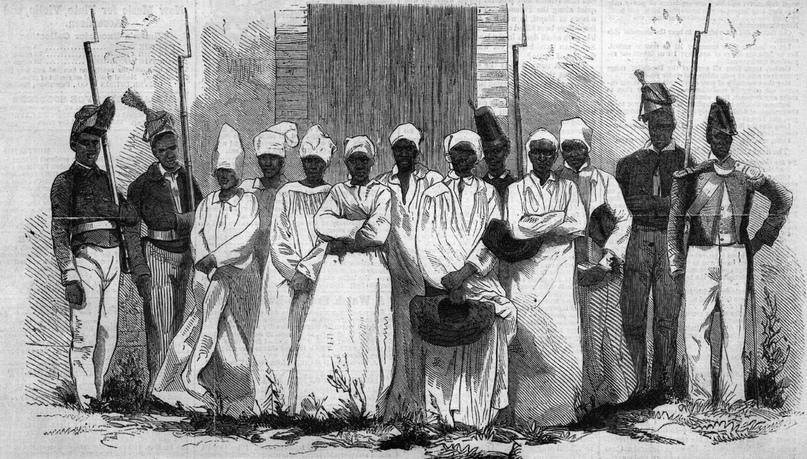 Практикующие вуду в Гаити (1860-е)