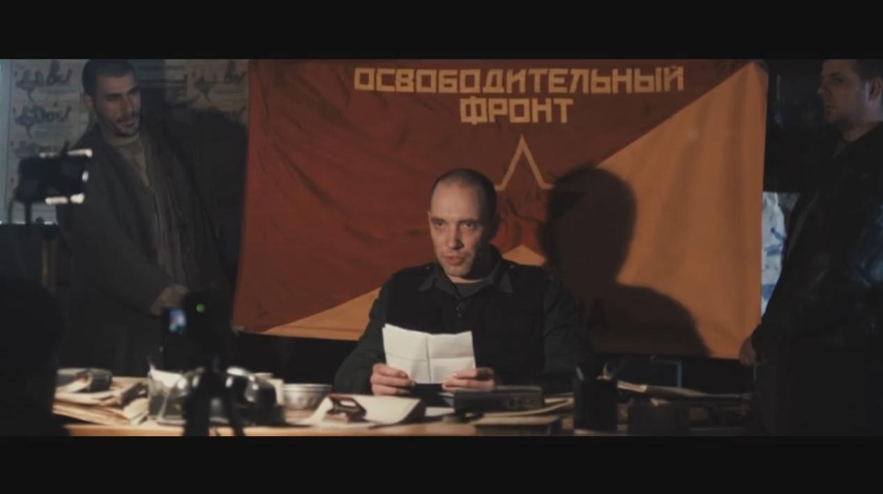 Небольшой левый след в фильме «Универсальный солдат 3».