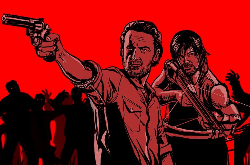 The Walking Dead (2010) является показателем нового жанра зомби, основанного на крайнем индивидуализме и искусстве выживания