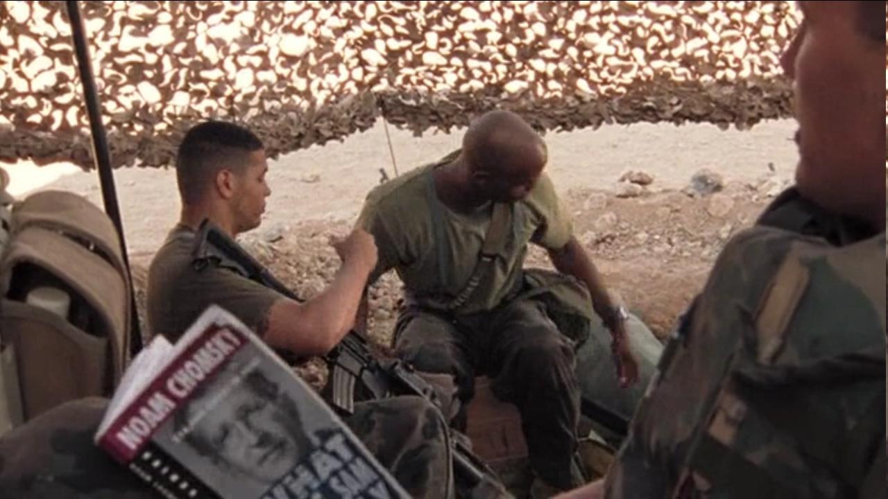 Угадайка — на какой войне читают Хомского?
