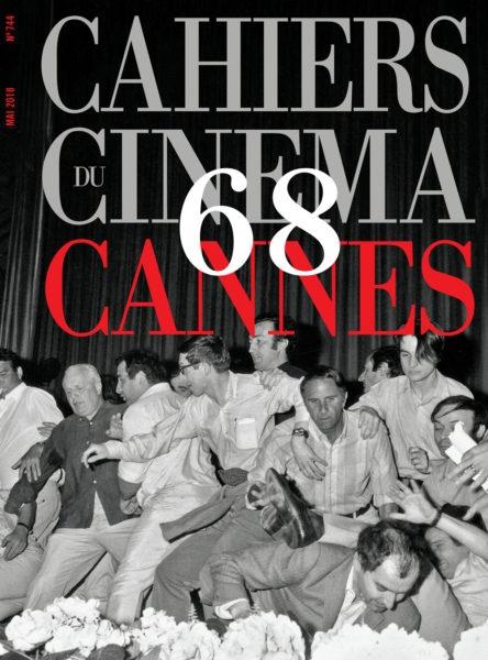 Обложка главного французского киножурнала Cahiers du Cinéma (номер 744 май 2018).